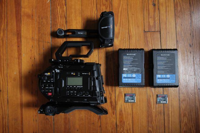 Blackmagic URSA Mini Pro 4.6K - READY TO SHOOT KIT