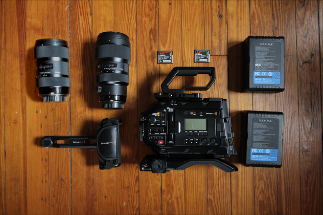 Blackmagic URSA Mini Pro 4.6k + Sigma Art Lenses + More!
