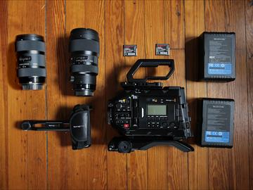 Blackmagic URSA Mini Pro 4.6k + Sigma Art Lenses + More!