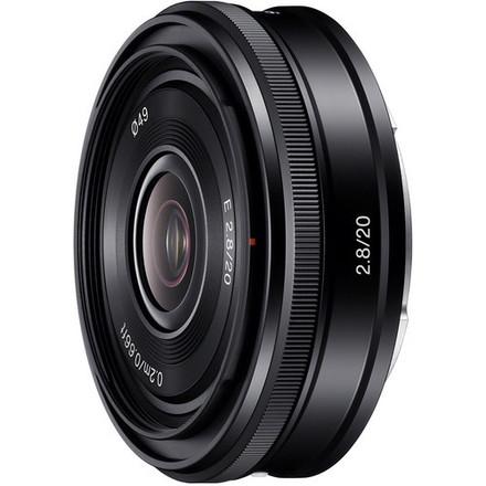 Sony 20mm f2.8 E-mount Lens Pancake