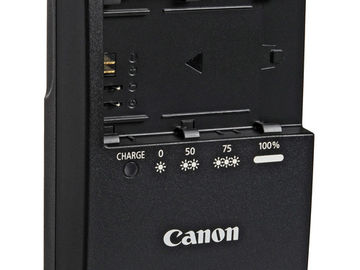 Rent: Canon Battery Charger LC-E6