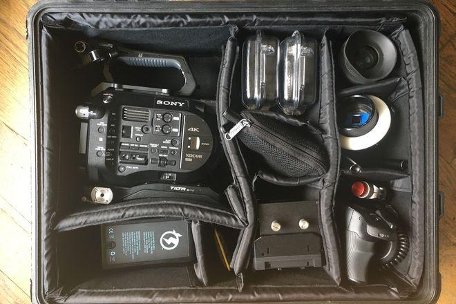 Sony PXW-FS7 XDCA-FS7 Cinematographer Package