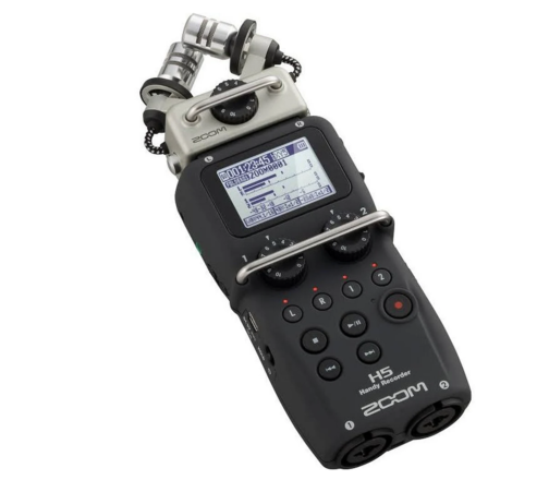 Zoom H5N Recorder + 2 XLR Output Adapter