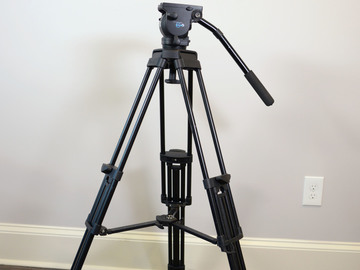 Rent: Vinten Vision Blue lightweight tripod, 75mm