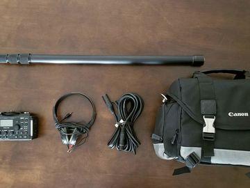 Rent: Sennheiser ME66/K6 Mic Boom Kit with Recorder