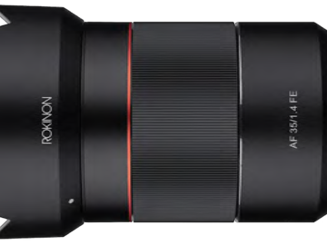 Rokinon AF 35mm f1.4 for Sony FE Mount