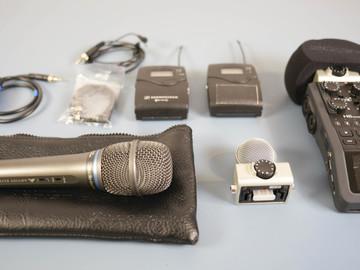 Rent: Audio Kit: Zoom H6N, Sennheiser Lav, Shure handheld Mic