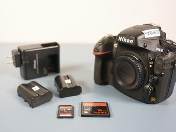 Rent: Nikon D800 Kit