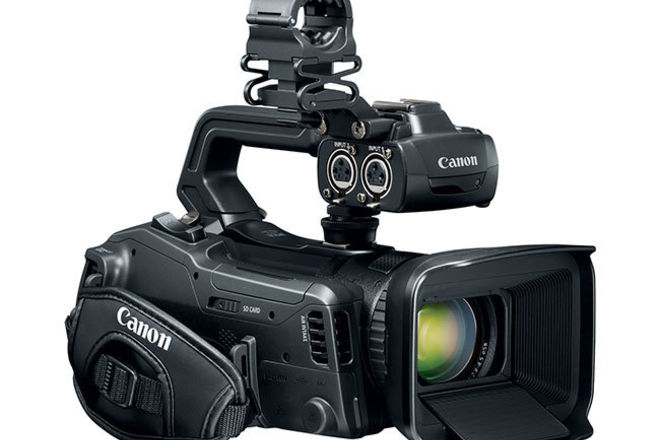 Canon XF405 4k Camera Setup