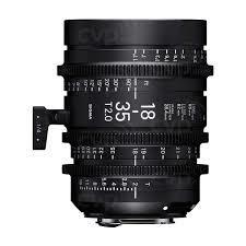 Sigma Cine 18-35 T/2 EF Mount
