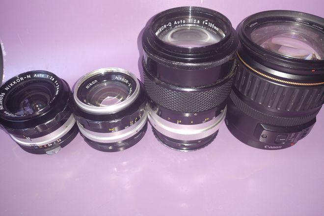 Canon EOS 7D/Nikon Lenses