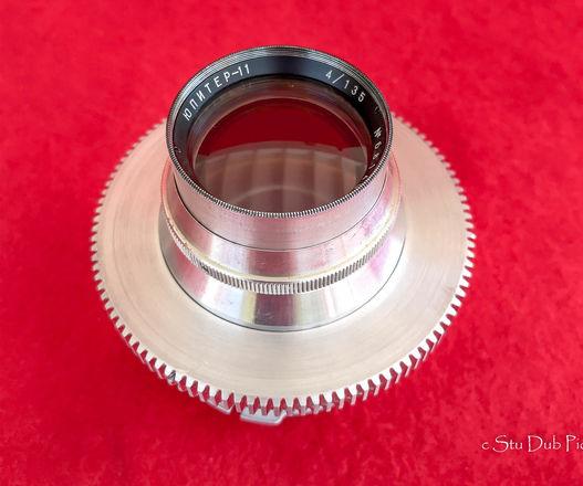 Jupiter 11 135mm F4 Soviet Lens 1968