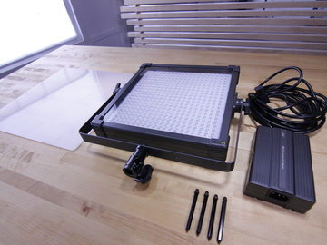 Rent: F&V K4000 LED Studio Panel Light Kit (x4 Lights)
