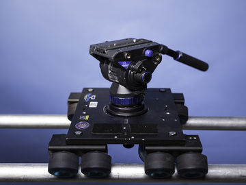 Rent: Dana Dolly with stands, rails and Benro S8 head