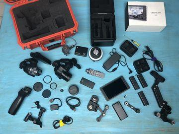 Rent: DJI X5R kit with follow focus and X5