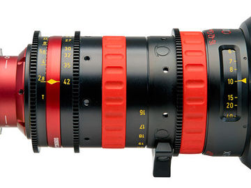 Rent: Angenieux Optimo DP Rouge 16-42mm T2.8 Zoom Lens