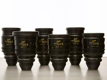 Rent: Cooke Mini S4/i Lens Set (18,25,32,50,75,100)