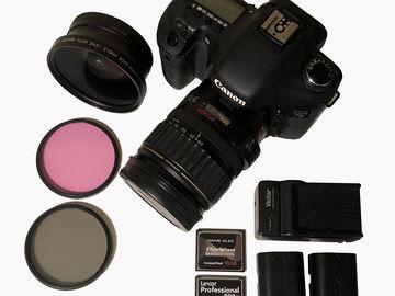 Rent:  Cannon 7D Kit - lenses, batteries, memory, filters