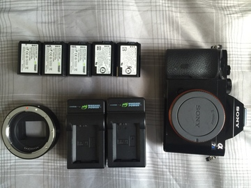 Rent: Sony A7S + EF Active Adapter