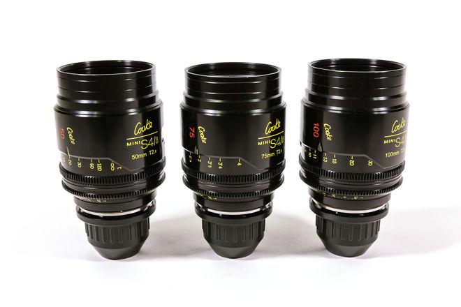 Cooke Mini S4i Lens Set of 3