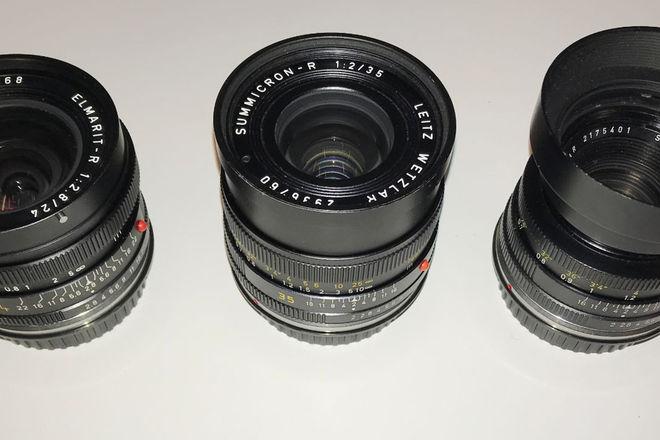 Leica R  3-Lens Set