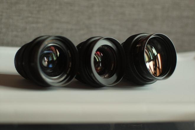 Canon FD SSC Speed lens set (3 lenses)