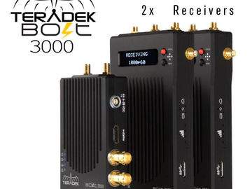 Rent: Teradek Bolt 3000 3G-SDI 1x Transmitter  2x Receiver Set