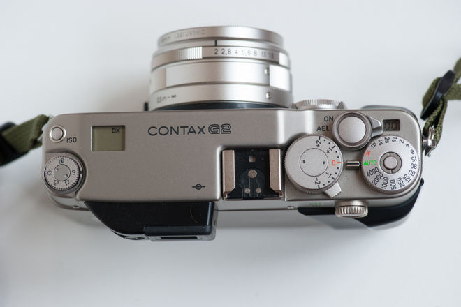 Contax G2 35mm Camera with Zeiss Planar f/2 45mm lens