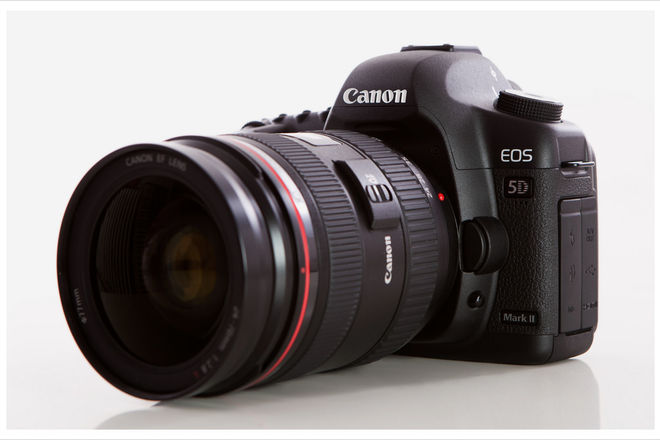 Canon EOS 5D Mark II with Canon f/2.8 24-70mm lens