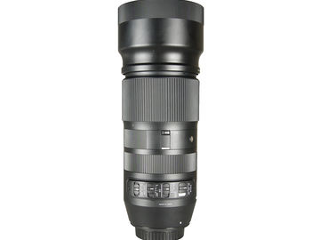 Rent: Sigma 100-400mm f/5-6.3 DG OS HSM Contemporary Lens for Cano