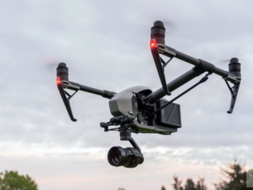 Rent: DJI INSIPRE 2 with X5S camera and SD card/adapter