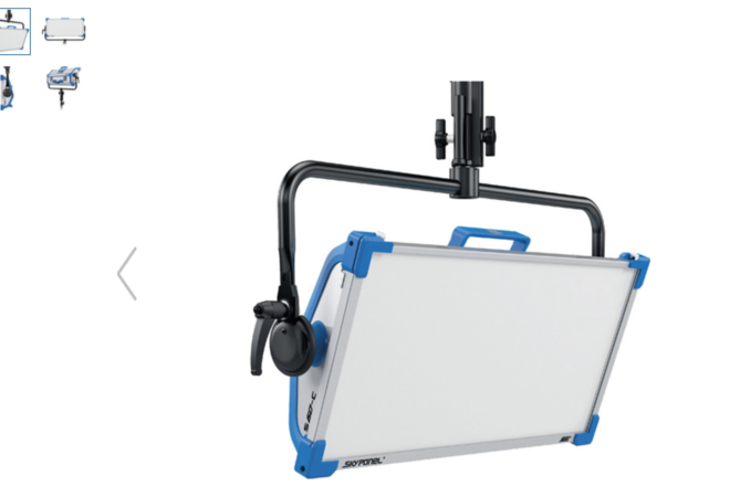 ARRI S60-C SkyPanel with Combo Stand and Hard Case