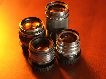 Rent: Russian KMZ custom modified lens set