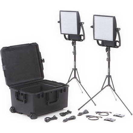 Litepanels Astra 4X Bi-Color LED 2-Light Kit w/ Gold Mounts