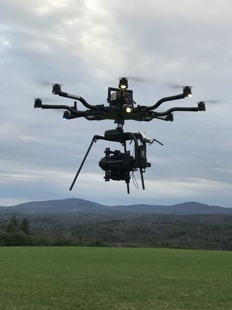 Freefly ALTA 8 with MoVI Pro with 6s 10K LiPo