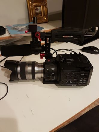 Sony Fs 100 with Zukuto mount