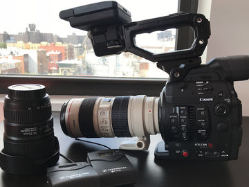 Rent: Canon EOS C300 Mark II