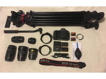 Rent: Canon 5D mkii, Lenses, Tripod