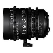 Sigma Cine 18-35mm T2 EF Mount