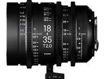 Sigma Cine 18-35mm T2 EF Mount