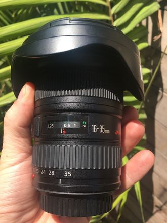 Canon EF 16-35mm f/2.8 L II USM For Sale