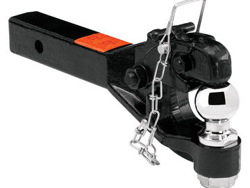 Rent: 2in. Military Trailer Tow Hitch (Ball and Pintle Combo)