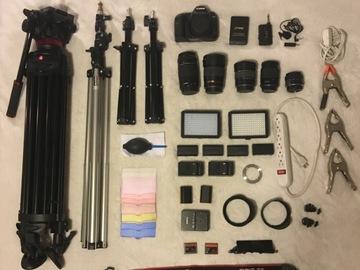Rent: Canon 5D MKII, LED Lights, Lenses, Tripod, Wireless Lav