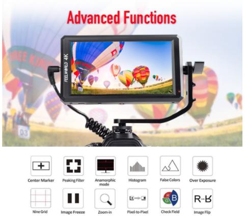 Feelworld F6 5.7 Inch Full HD On-Camera Monitor
