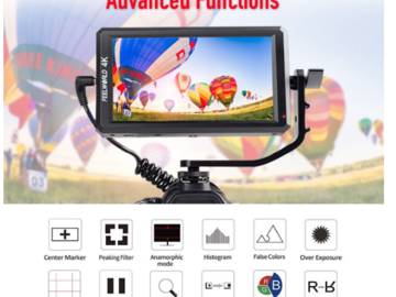Rent: Feelworld F6 5.7 Inch Full HD On-Camera Monitor