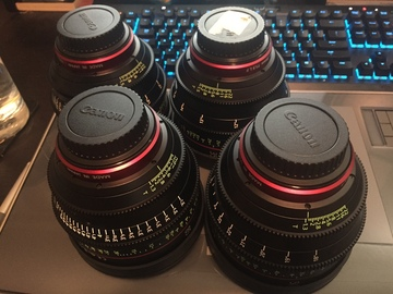 Rent: CN-E  24, 35, 50, and 85mm