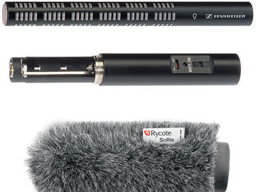 Rent: Sennheiser ME66/K6 Mic with K6 and Windscreen Kit