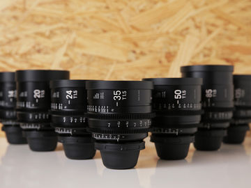 Rent: Sigma Cine FF High Speed Primes  | Full Set of 7