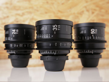 Rent: Sigma Cine FF High Speed Primes | Set of 3