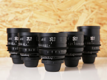 Rent: Sigma Cine FF High Speed Primes | Set of 5